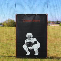 Thumbnail Image 3 for Cimarron #24 30x12x10 Twisted Poly Batting Cage Net with FREE Backstop