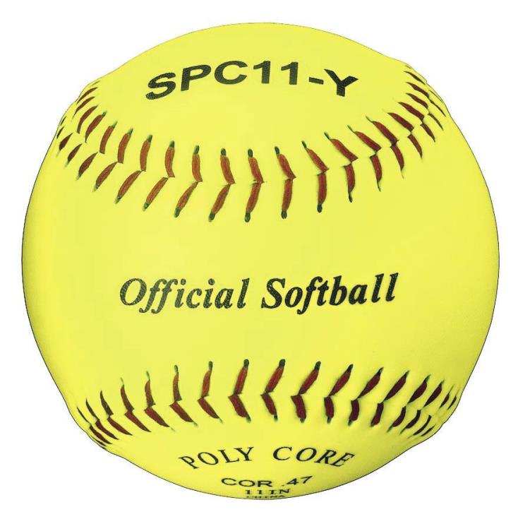 Official Softball Optic Yellow 11 Dozen
