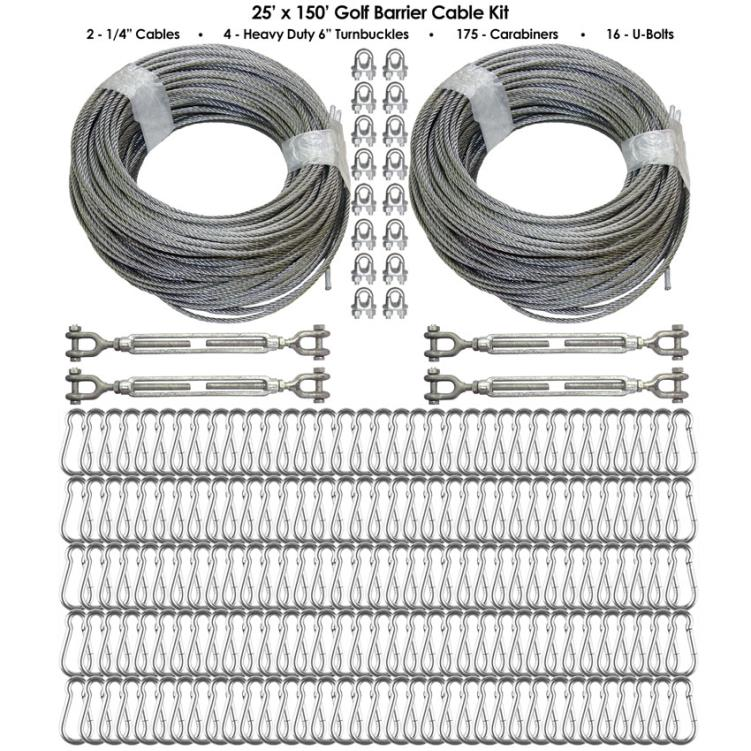 Cimarron Golf Barrier Netting Cable Kit