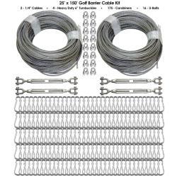 Thumbnail Image 5 for Cimarron Golf Barrier Netting Cable Kit
