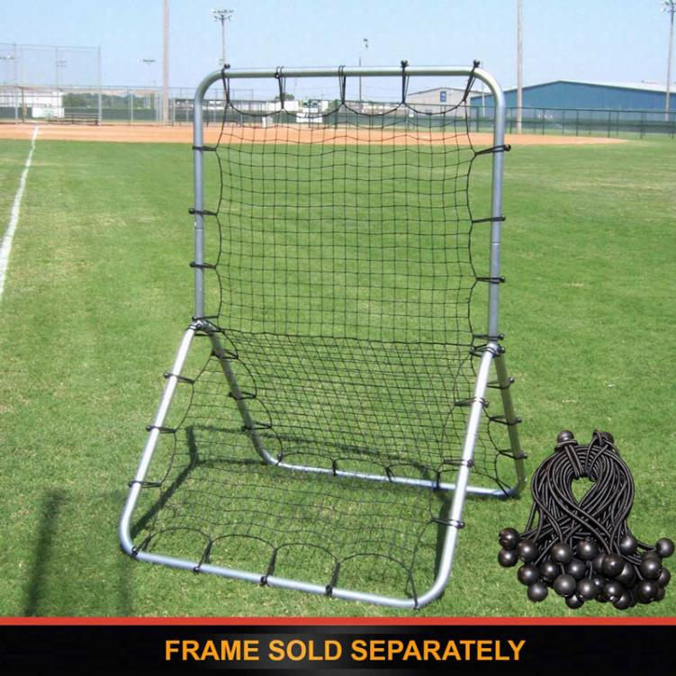 Cimarron Sports Multi Sport Replacement Net and Bungee  Fasteners KIT