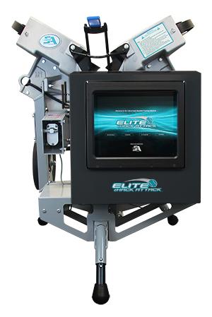 Elite eHack Attack Softball Machine
