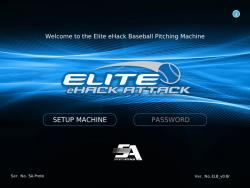 Thumbnail Image 3 for Elite eHack Attack Baseball Pitching Machine