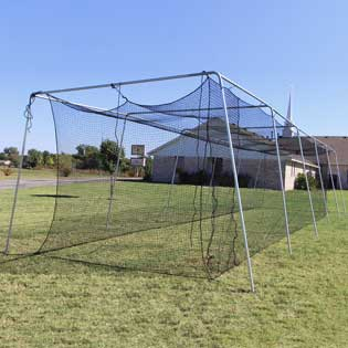 Sub category thumbnail image for Batting Cage Frames with Nets