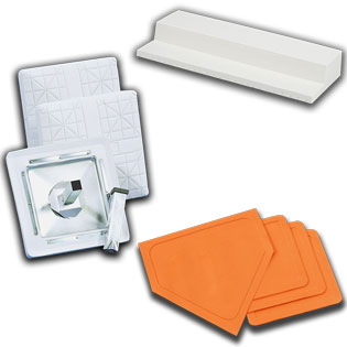 Sub category thumbnail image for Bases, Home Plates, Pitching Rubbers
