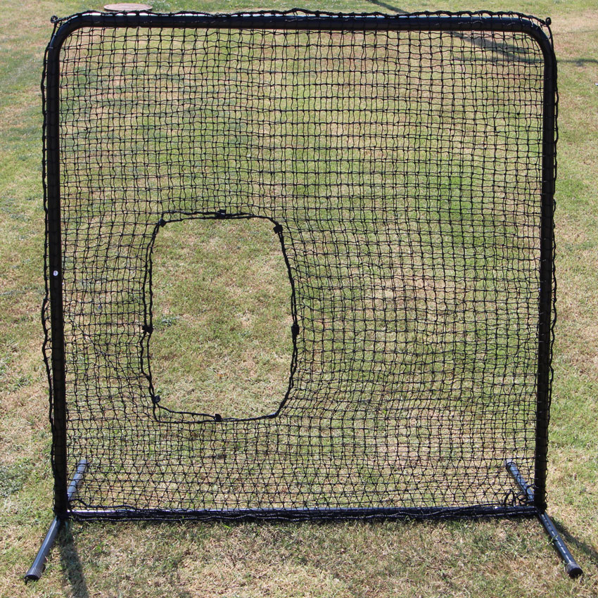 Packaging or Promotional image for Cimarron 7' x 7' #42 Softball Net and Commercial Frame