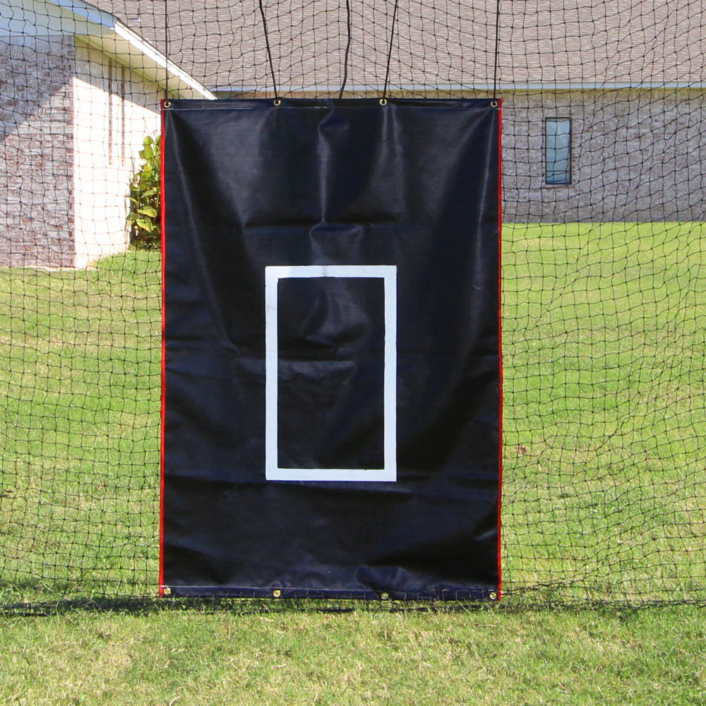 Packaging or Promotional image for Cimarron 4' x 6' Vinyl Backstop