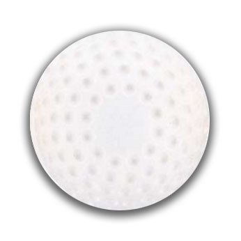 Packaging or Promotional image for Martin White Dimpled Baseball - Dozen