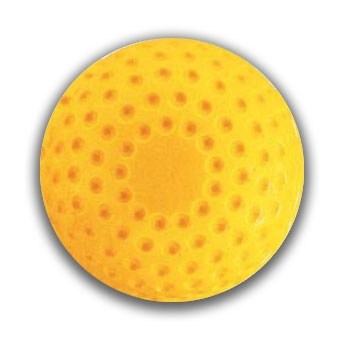 Packaging or Promotional image for Martin Dimpled Softball, Yellow 11- Dozen