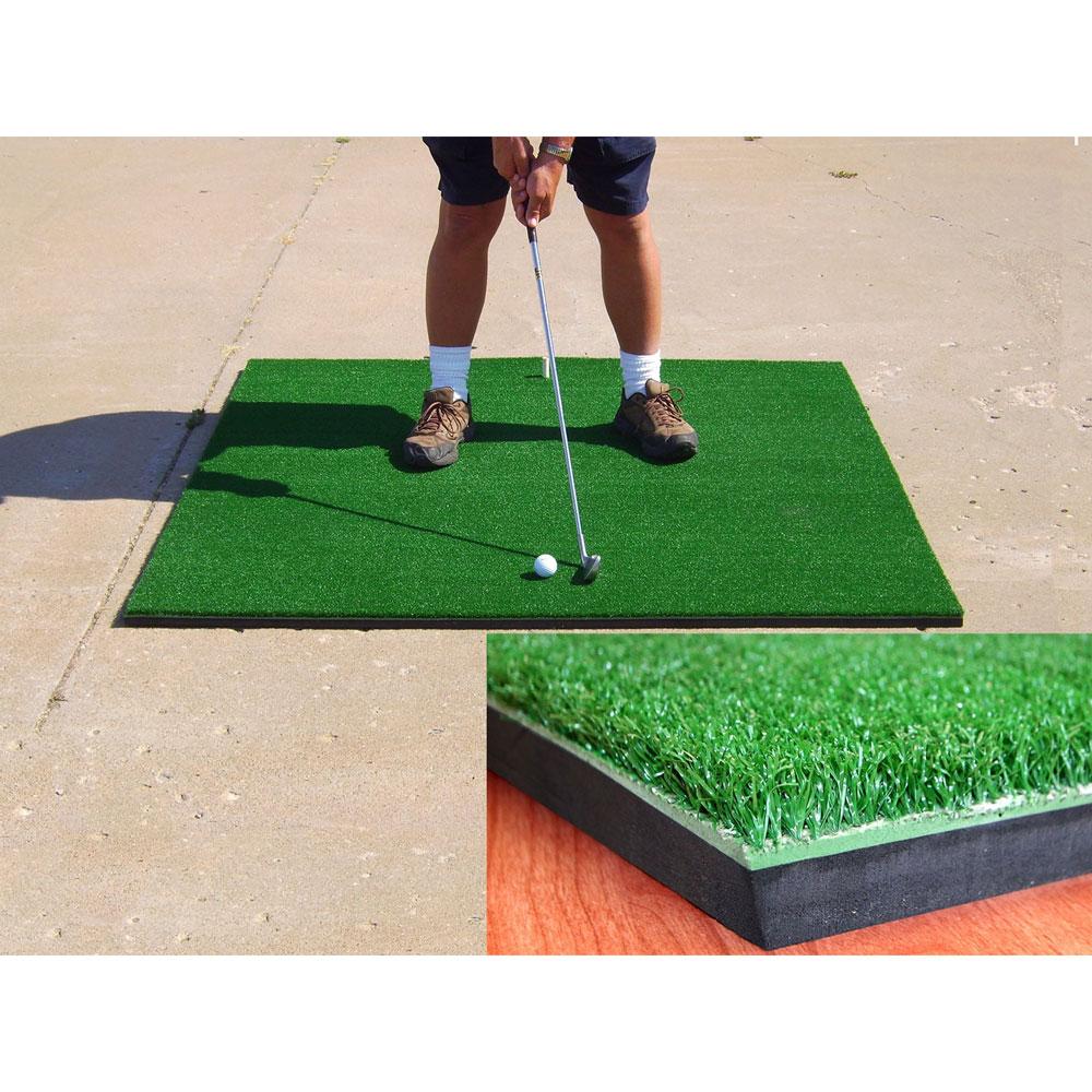 Packaging or Promotional image for Cimarron 5'x5' Premier Golf Mat