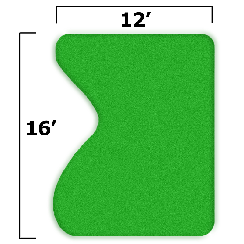 Packaging or Promotional image for 15'' x 19'' Complete Par Saver Putting Green w/o Fringe