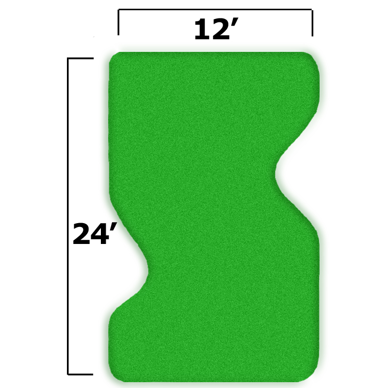 Packaging or Promotional image for 15'' x 27'' Complete Par Saver Putting Green w/o Fringe