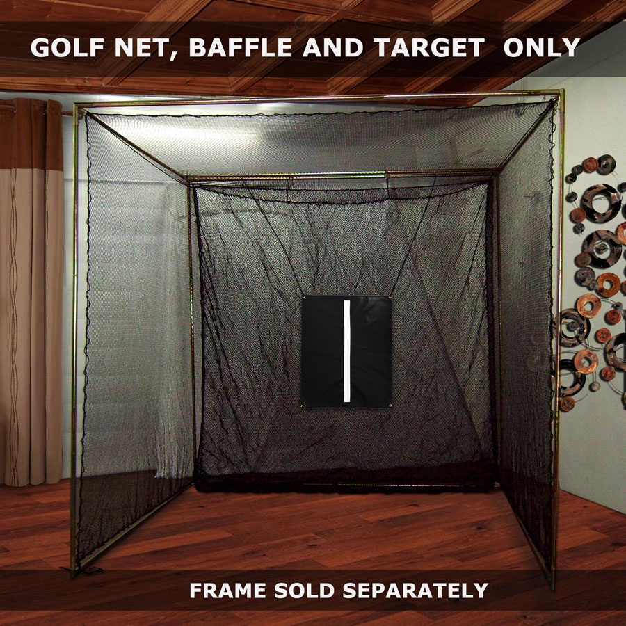 Packaging or Promotional image for Cimarron 10' x 10' x 10' Masters Golf Net Only