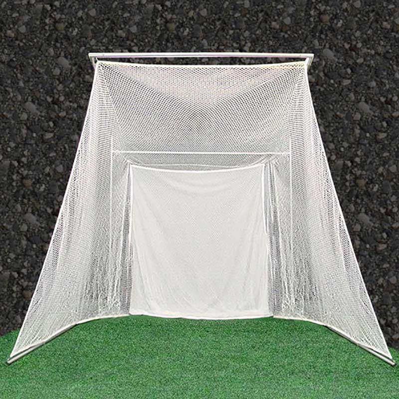 Packaging or Promotional image for Cimarron Super Swing Master Golf Net and Frame