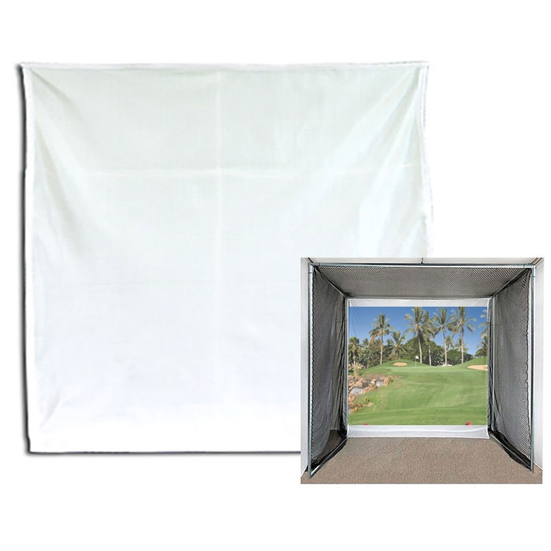 Packaging or Promotional image for 10' x 10' Impact Projection Screen