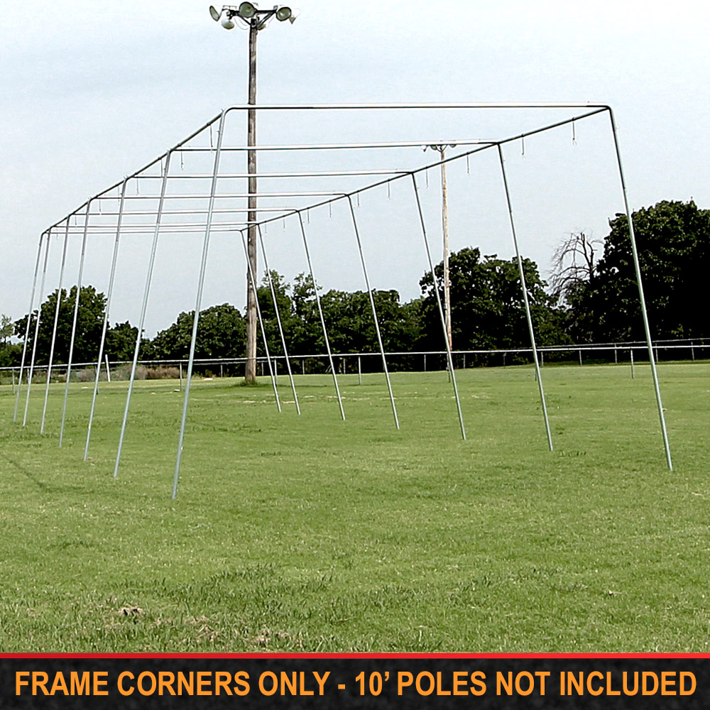 "Packaging or Promotional image for Cimarron 1 ½"" Batting Cage Frame Corners"