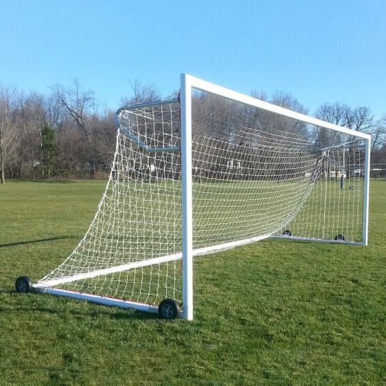 Packaging or Promotional image for Advantage Aluminum Soccer Goals