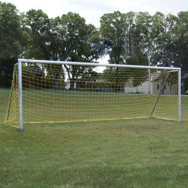 Packaging or Promotional image for 4 Round Budget Aluminum Soccer Goals