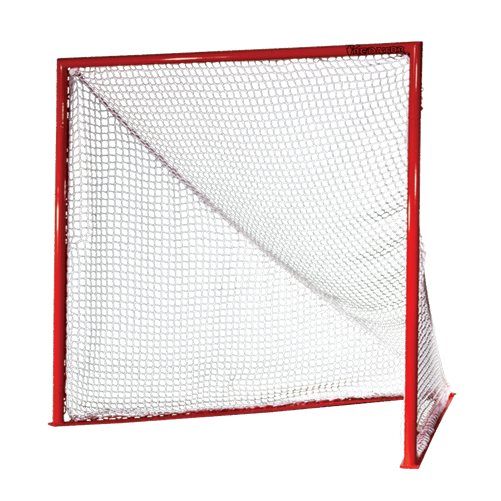 Packaging or Promotional image for Predator Collegiate Game Goal with 7mm White Net