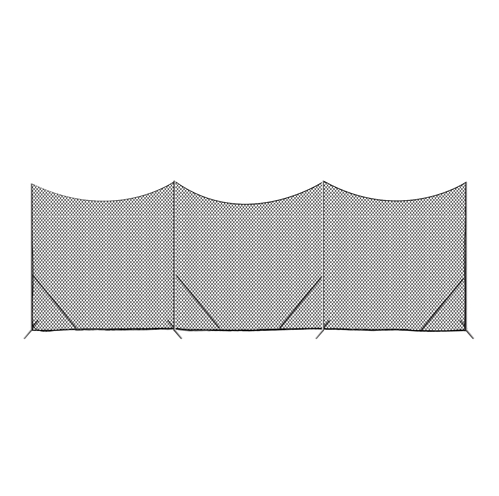 Packaging or Promotional image for Predator 10' x 30' Barrier Backstop