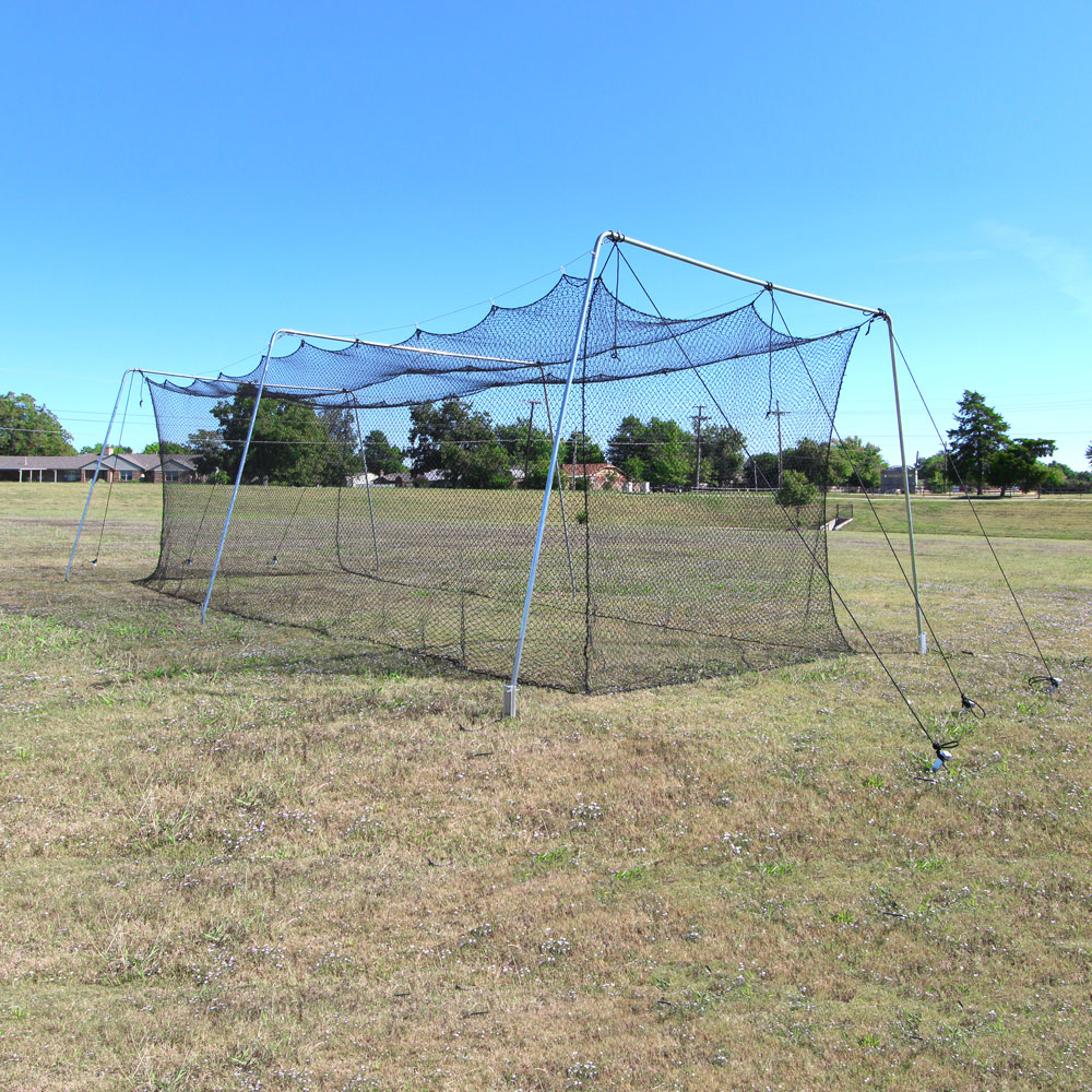 Packaging or Promotional image for Cimarron #24 Rookie Batting Cage with Cable Frame