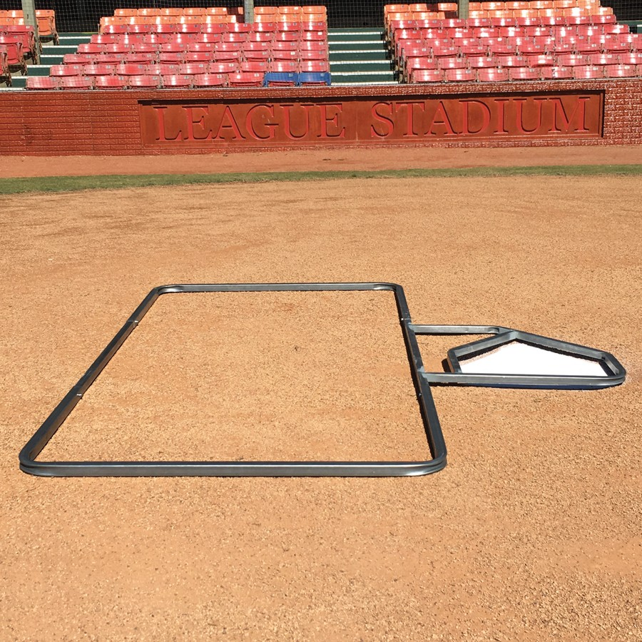 Packaging or Promotional image for Batter''s Box Softball Template 3'' x 7''