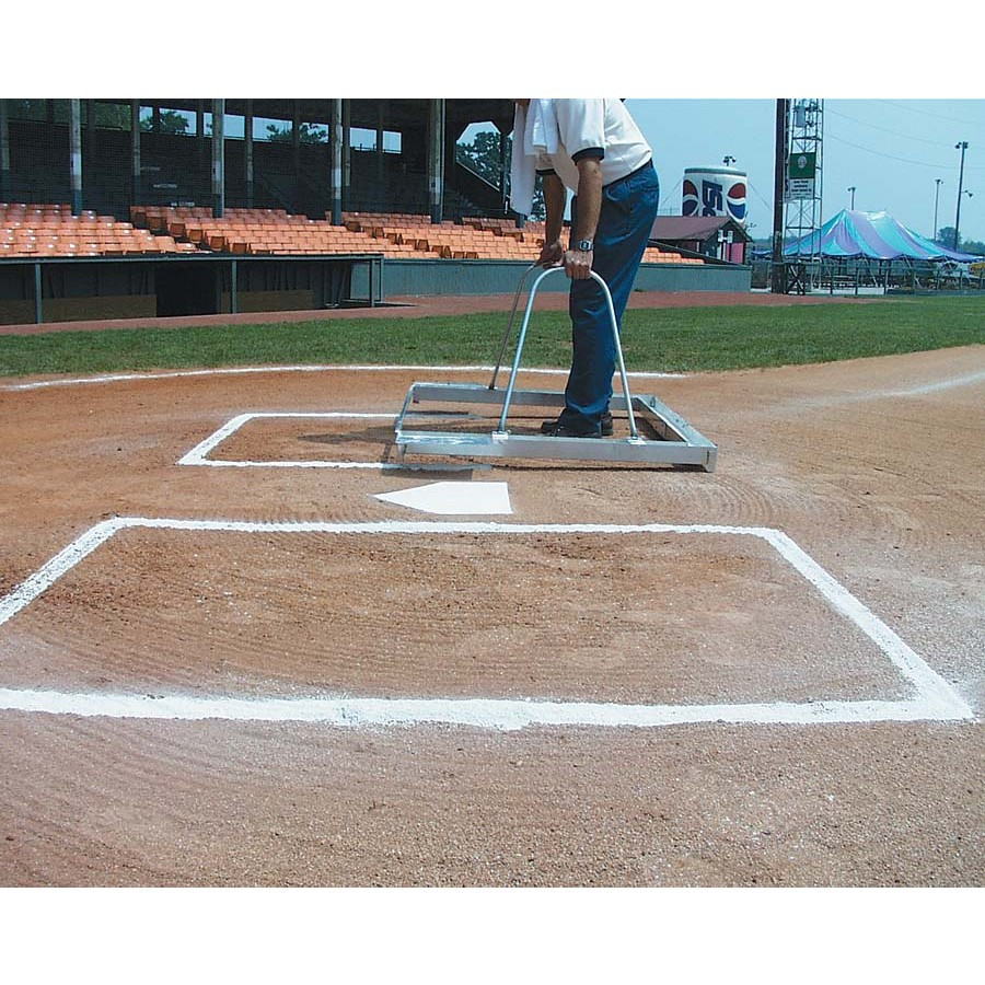 Packaging or Promotional image for E-Z Batter''s Box Chalker Softball and Little League