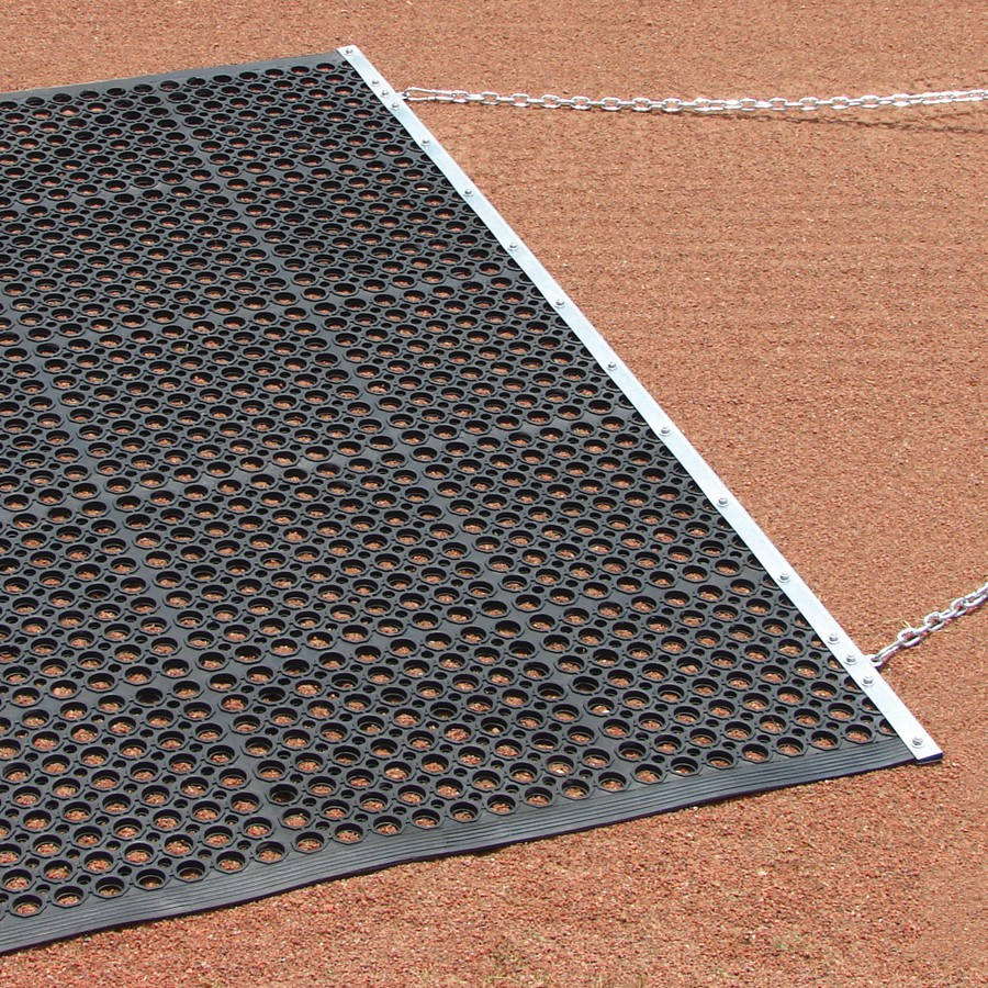 Packaging or Promotional image for Infield Eraser Mat Drag 6.5'' x 4'' with Tow Rope