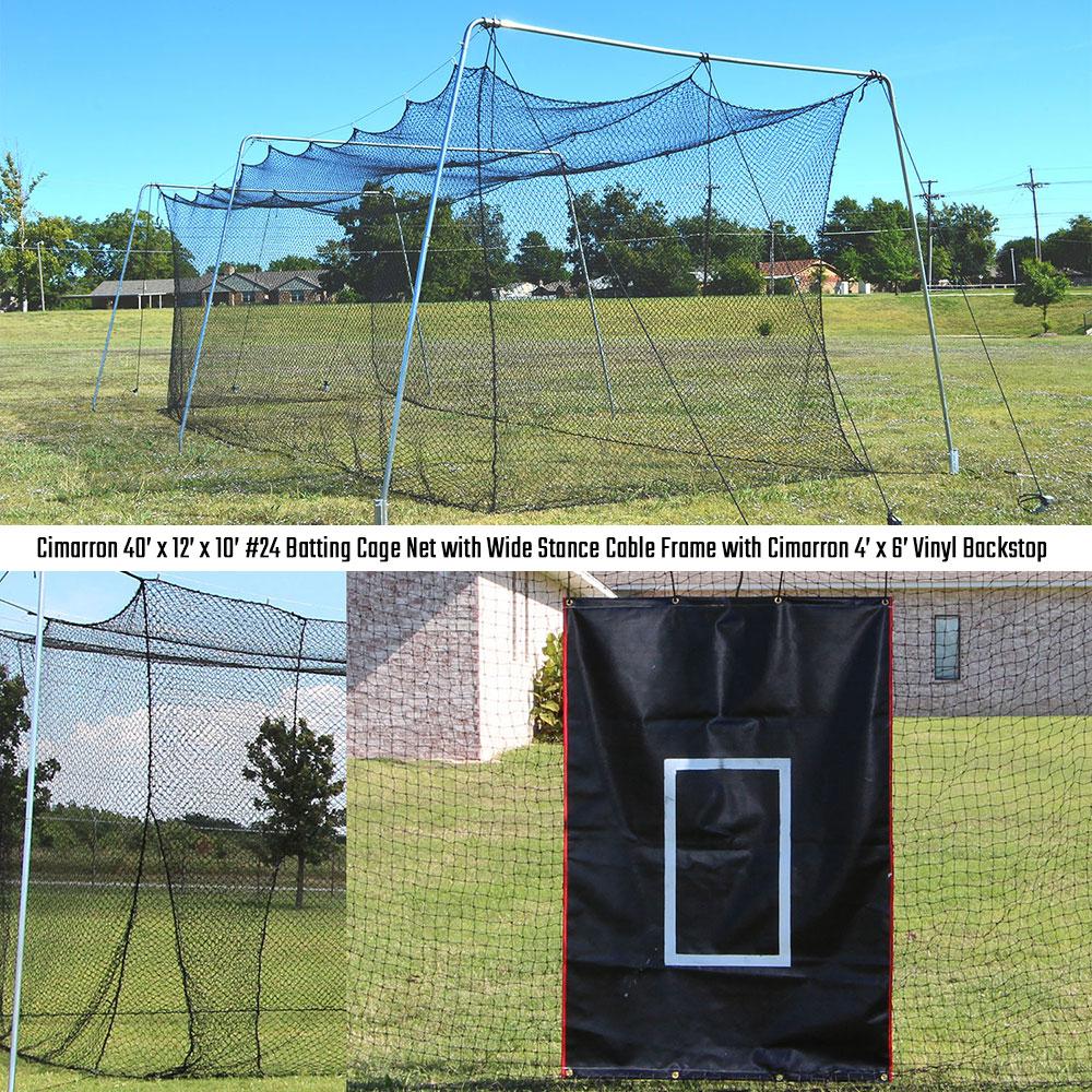 Backyard Batting Cage - House of Things Wallpaper