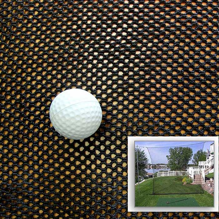 Packaging or Promotional image for Cimarron GOLF Archery Netting - Min. Qty. 10' Linear Feet