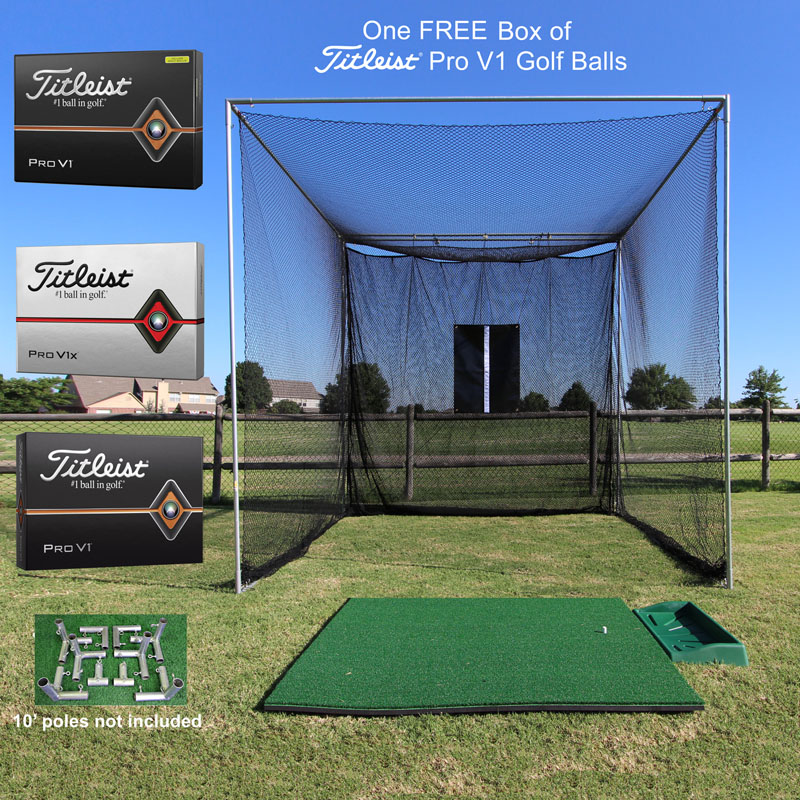Packaging or Promotional image for Cimarron Masters Premier Golf Bundle with FREE Box of ProV1 Golf Balls