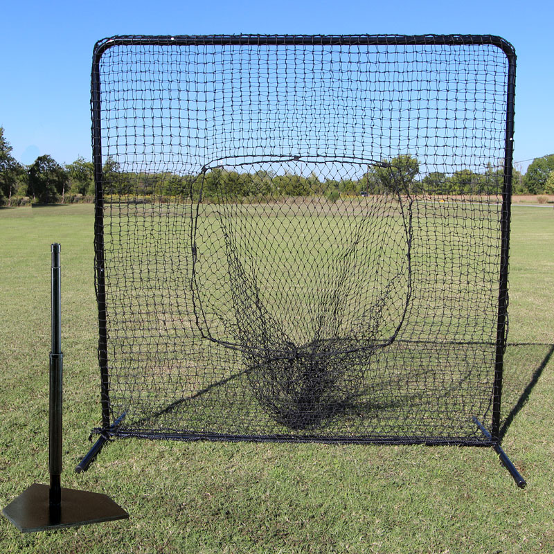 Packaging or Promotional image for Cimarron Residential Sock Net with Deluxe Batting Tee