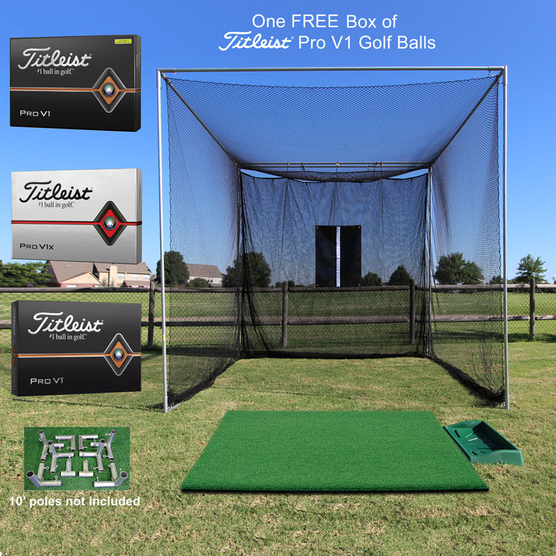 Packaging or Promotional image for Cimarron Masters Tee Line Golf Bundle with FREE Box of ProV1 Golf Balls