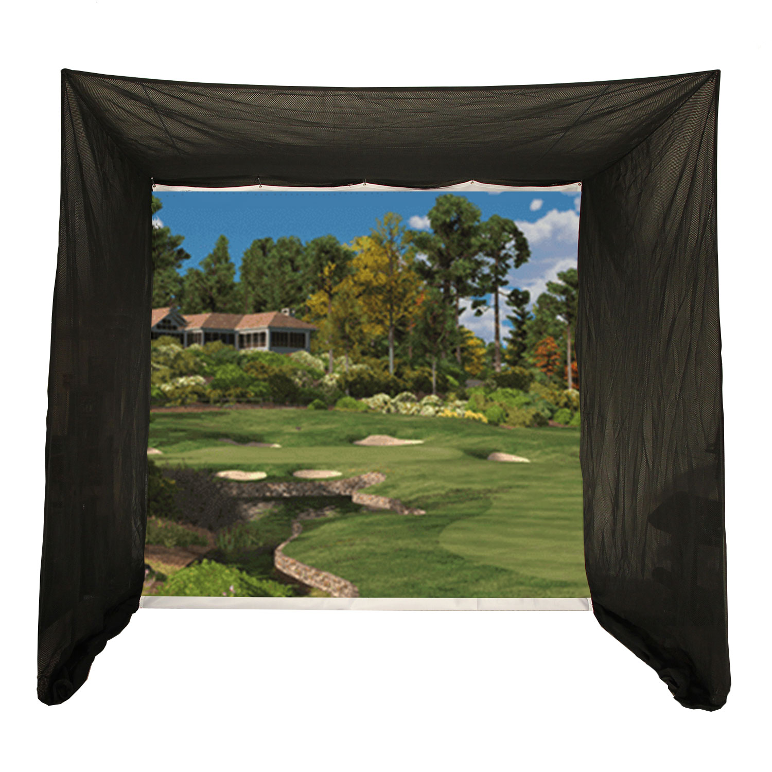 Packaging or Promotional image for Cimarron 5x10x10 Tour Simulator Archery Golf Net