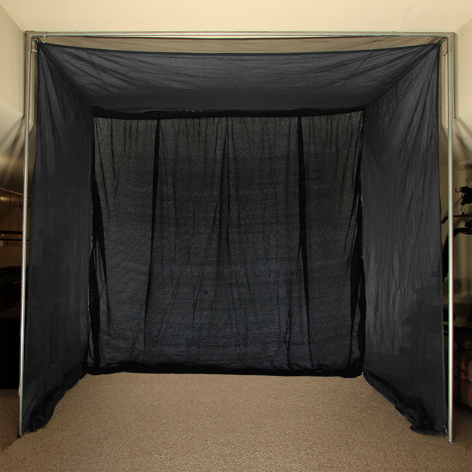 Packaging or Promotional image for Cimarron 5x10x10 Clubhouse Archery Golf Net and Complete Frame