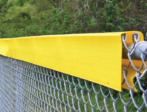 Packaging or Promotional image for Safety Top Cap Fence Top Premium Protection