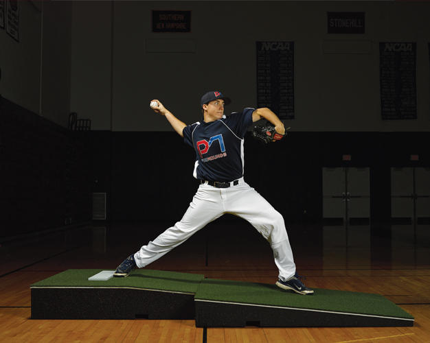Packaging or Promotional image for ProMounds Professional Two-Piece Pitching Mound