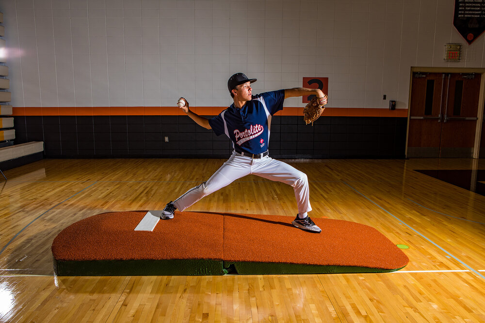 Packaging or Promotional image for Standard Two-Piece Practice Mound