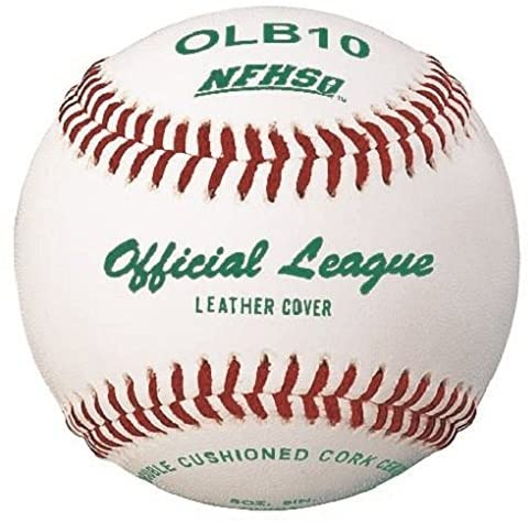 Packaging or Promotional image for Official League LVL 1 Cowhide Leather Baseball Dozen