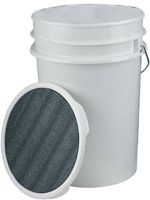 Packaging or Promotional image for 6 Gallon Bucket with Padded Lid