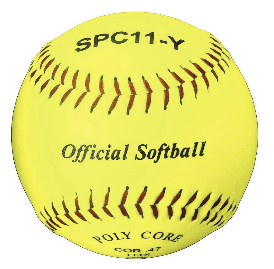Packaging or Promotional image for Official Softball Optic Yellow 11 Dozen