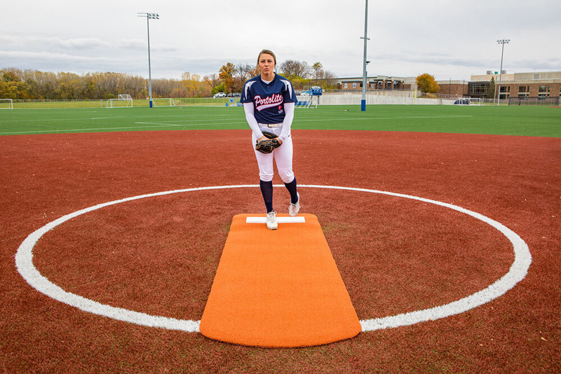 Packaging or Promotional image for Long Spiked Softball Mat