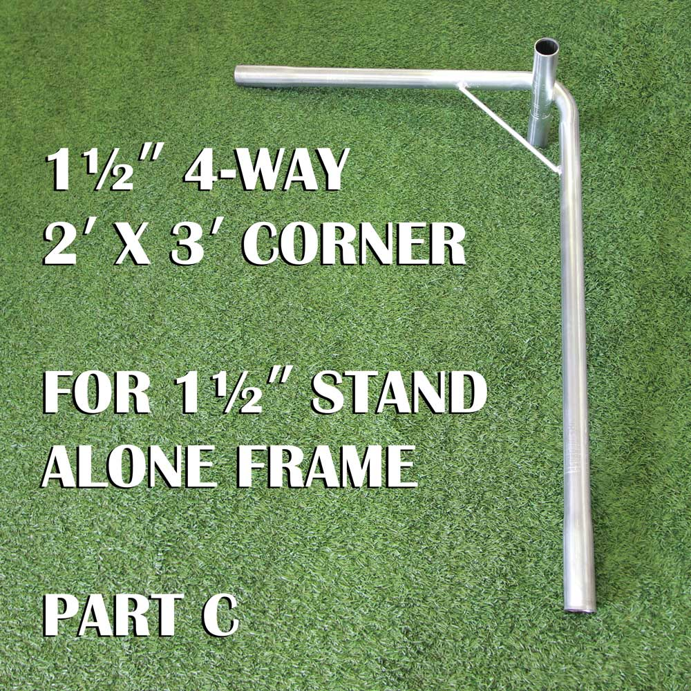 Packaging or Promotional image for 1&nbsp&nbsp  1/2 Stand Alone Frame Parts