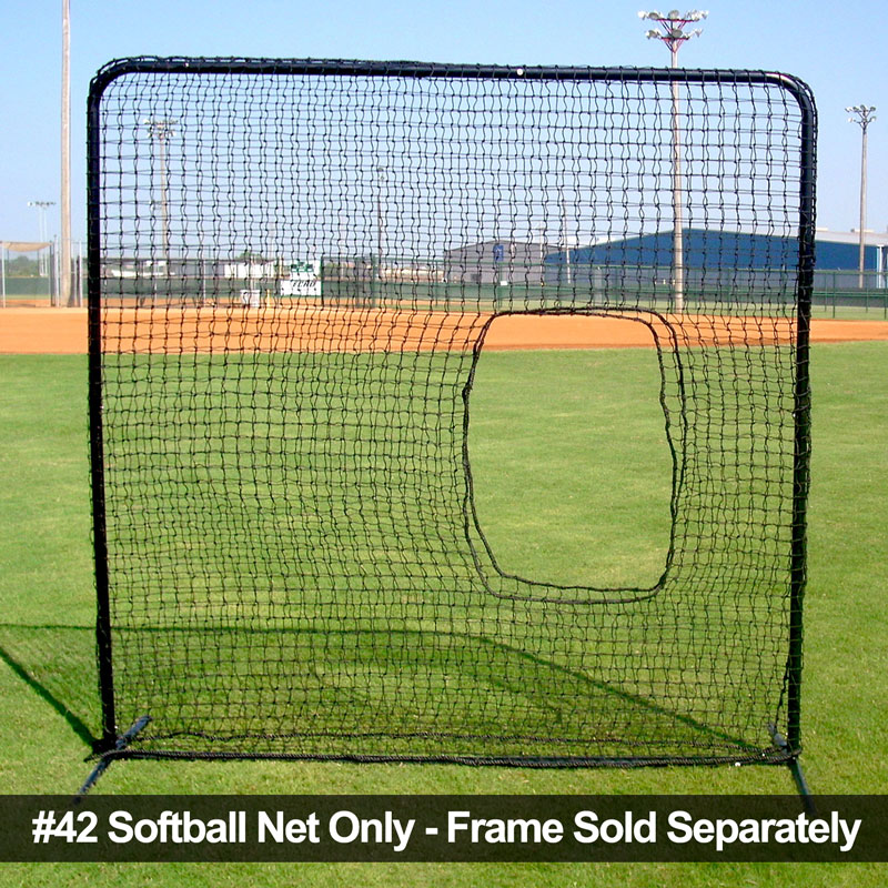 Packaging or Promotional image for Cimarron 7' x 7' #42 Replacement Softball Net Only