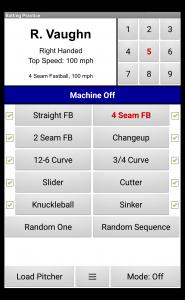 Batting Practice Screen iPitch